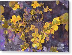Joyous Meadow 2 Acrylic Print by Ursula Freer