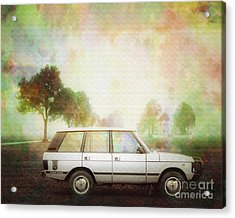 Joys Of Refined Motoring  Acrylic Print by Edmund Nagele