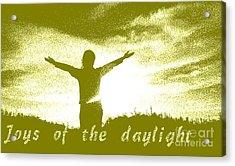 Joys Of The Daylight Acrylic Print