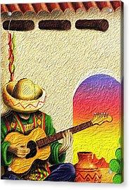 Juan's Song Acrylic Print