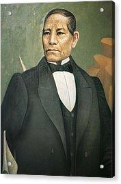 Juarez Garcia, Benito 1806-1872. Oil Acrylic Print