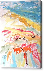 Acrylic Print featuring the painting Jubilation by Esther Newman-Cohen