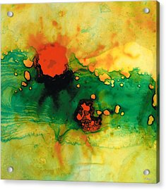 Jubilee - Abstract Art By Sharon Cummings Acrylic Print by Sharon Cummings