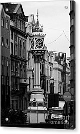 Jubilee Clock For Queen Victorias Golden Jubilee Douglas Isle Of Man Acrylic Print by Joe Fox