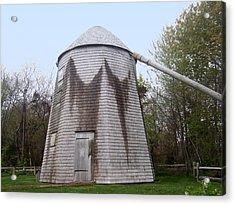 Judah Baker Windmill Acrylic Print by Catherine Gagne