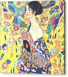 Judith 2 By Gustav Klimt Acrylic Print by Pg Reproductions