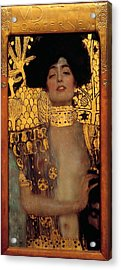 Judith And The Head Of Holofernes Acrylic Print