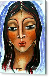 Judith Acrylic Print by Maya Telford