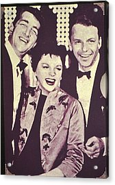 Judy Garland And Friends Acrylic Print by Jay Milo