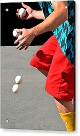 Juggler Acrylic Print by Diana Angstadt