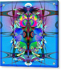 Juggler Acrylic Print