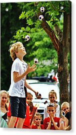 Acrylic Print featuring the photograph Juggling... by Al Fritz