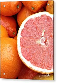 Juicy Goodness Acrylic Print by Roxanne Marshal