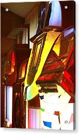 Jukebox Acrylic Print by Jose Rodriguez