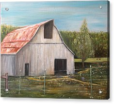 Julian Homestead Barn Acrylic Print