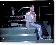 Julian Lennon Acrylic Print by Concert Photos