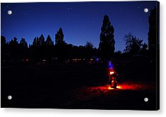 Julian Night Lights 2013 Acrylic Print