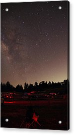 Julian Night Sky Milky Way Acrylic Print