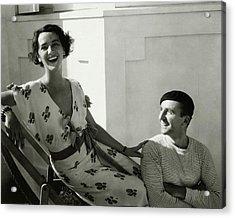 Juliette Crosby Hornblow And Arthur Hornblow Acrylic Print