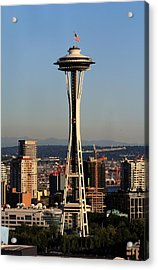 July 4th Needle Acrylic Print by Benjamin Yeager