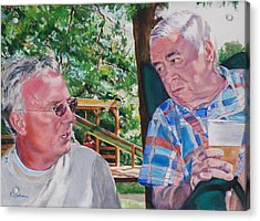 July 4th Picnic   Acrylic Print by Kay Bohren