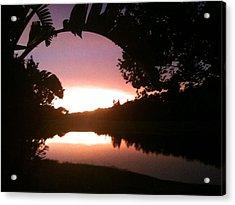 July Florida Sunset Acrylic Print
