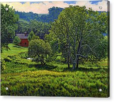 July Summer Mid Afternoon Acrylic Print