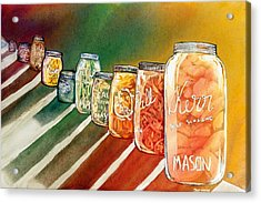July's Harvest Acrylic Print by Starr Weems