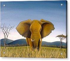 Jumbo Acrylic Print by Hilton Mwakima