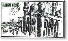 Jumeirah Majid Acrylic Print by Razi P