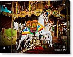 Jumper Acrylic Print by Colleen Kammerer