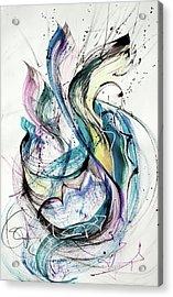 Jumping Acrylic Print