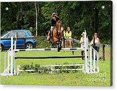Jumping Eventer Acrylic Print