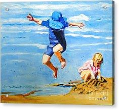 Jump'n Jack And Jill Acrylic Print