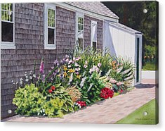 Acrylic Print featuring the painting June Burst by Karol Wyckoff