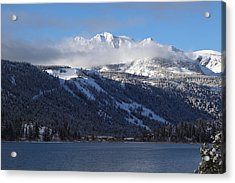 June Lake Winter Acrylic Print