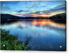 June Sunset Acrylic Print
