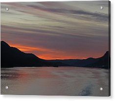 Acrylic Print featuring the photograph Juneau Alaska by Jennifer Wheatley Wolf