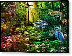Jungle Dream 2 Acrylic Print