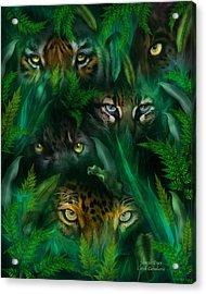 Jungle Eyes Acrylic Print