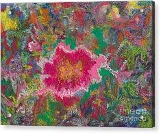 Jungle Flower Acrylic Print