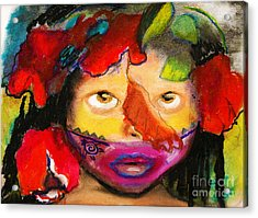 Jungle Girl Acrylic Print