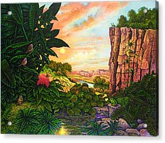 Jungle Harmony I Acrylic Print