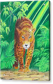 Jungle Leopard Acrylic Print