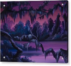 Jungle Of Narnia Acrylic Print by James Christopher Hill
