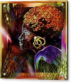 African   Princess Acrylic Print