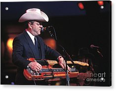 Junior Brown Acrylic Print by Concert Photos