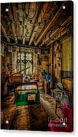 Junk Room Acrylic Print by Adrian Evans