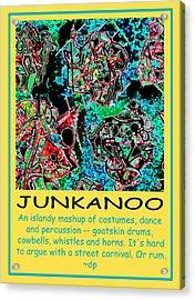 Junkanoo Poster Acrylic Print by Doug Petersen