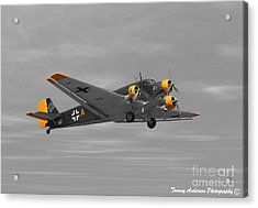 Junkers Ju 52 Acrylic Print by Tommy Anderson